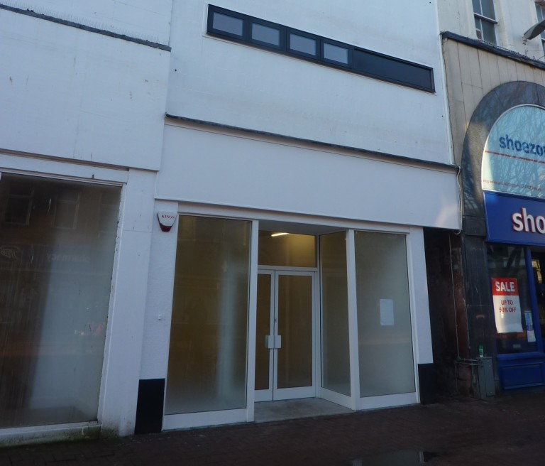 Retail revamp for city centre shop in bid to attract new occupier