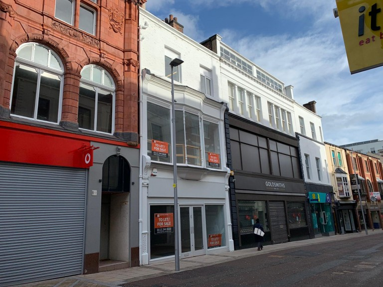Commercial Street retail refurbishment completes